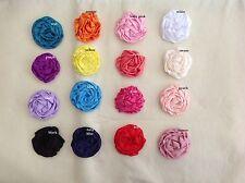 $1 POST* DIY Large Rolled Rosette Flower Embellishment Headband Handmade Craft