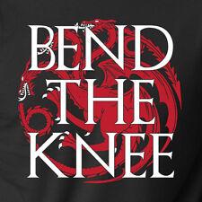 BEND THE KNEE House Daenerys Targaryen game of thrones dragon king battle TShirt