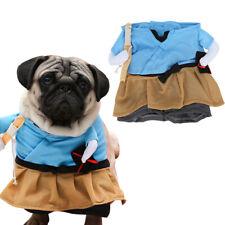 Pet Samurai Costume Dog Outfit Apparel Clothes Halloween Christmas Theme