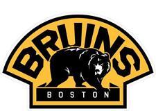 Boston Bruins Decal ~ Car / Truck Vinyl Sticker - Wall Graphics, Cornholes