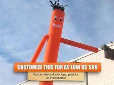 Air Inflatable Sky Puppet Great Dancer- 20 FT Plain Orange