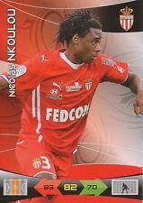 NKOULOU # CAMEROUN AS.MONACO TRADING CARDS ADRENALYN PANINI FOOT 2011