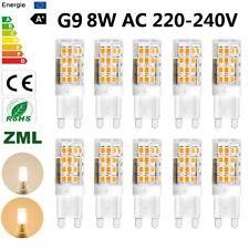 8W G9 led bulb 220V Cold/Warm White Capsule light SMD replace halogen desk lamp