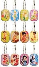 "Disney Fairies Tink Tinker Bell Keepsake Lockets Tins 2"" Party Favors Ball Chain"