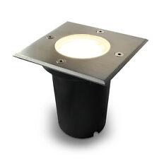Bodeneinbaustrahler Quadrat / IP67 / GU10 230V