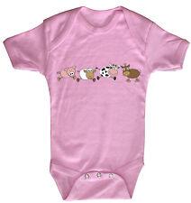 BABY BODY MIGNON ANIMAL Justaucorps de qualité 0-24 mois 08498 B