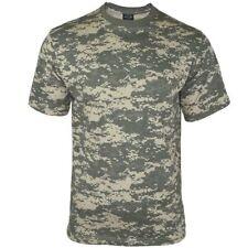 Mil-Tec Homme US Armée T-Shirt Militaire 100% Coton At-Digital Camo S – 3XL
