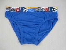 Bonds Boys Kids Cotton Briefs Underwear sizes 8 10 Colour Blue