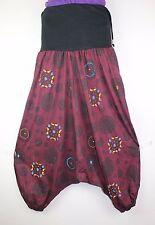 Aladdin Festival Harem Cotton Trousers Hippy Boho Yoga Pants Festival Casual S5
