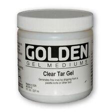 GOLDEN ACRYLIC : Clear Tar Gel : 236ml : 473ml : 946ml