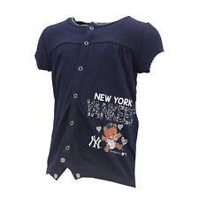 New York Yankees MLB Genuine Baby Infant Girls Size Creeper Bodysuit New Tags