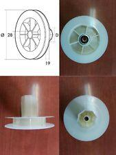 Disco persiana compacto con rodamiento, polea, para cinta de 18mm, blind.