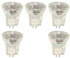 (5-Bulbs) MR8 +C 12V 20-Watt Flood Halogen light Bulb 20W 12-Volts Anyray A2016Y