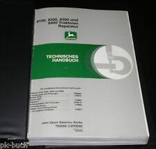Teilekatalog John Deere 8100 / 8200 / 8300 / 8400 Traktor Reparatur 02/1999