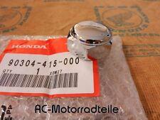 Honda CL 350 360 450 Lenkkopf Steuerkopf Mutter Chrom Neu Nut Steering Stem New