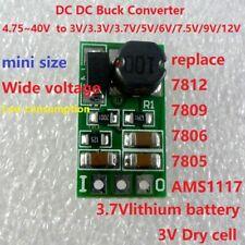 DC-DC Buck Step Down Converter Regulator Module 3V 3.3V 3.7V 5V 6V 7.5V 9V 12V