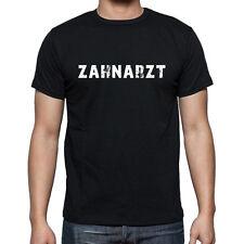 zahnarzt, Herren Tshirt Schwarz, Hommes Tshirt Noir, Geschenk, Cadeau