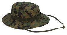 USMC Digital Marine Corp MARPAT Woodland Camouflage Boonie Hat size 7  TO 73/4