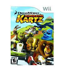 DreamWorks Super Star Kartz (Nintendo Wii, 2011) - DISC ONLY