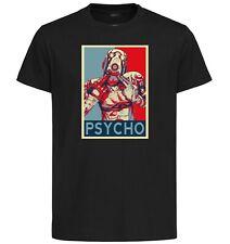 T-Shirt Black - Propaganda Borderlands - Psycho Type A