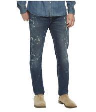 Polo Ralph Lauren Sullivan Slim Fit Sawyer Paint Splatter Jeans New