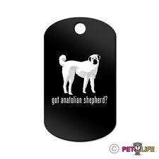 Got Anatolian Shepherd Engraved Keychain Gi Tag dog Many Colors