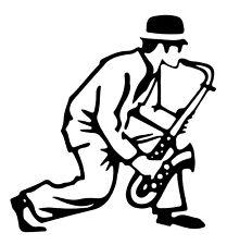 Shaped Ska Vinyl Sticker sknhead sax saxophone madness window 2Tone laptop car
