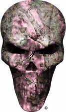 Pink camouflage skull window golf cart go kart vinyl graphic decal