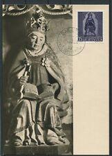 LIECHTENSTEIN MK 1958 375 WEIHNACHTEN MAXIMUMKARTE MAXIMUM CARD MC CM a3379