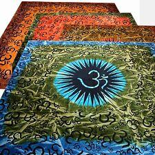 COUVRE-LIT COUVERTURE OM Harmonie Batik Inde Bouddha