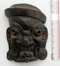 SUPER RARE! & Unusual Bhutan Buddhist Shamanic Exorcism Mask