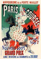 Vintage French Posters: Paris Courses  - Les Maitre de l'Affiche - 1895