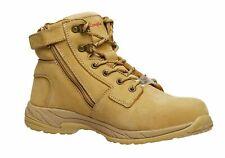 King Gee  Tradie Zip Wheat Work Boots Womens - WorkWearZone