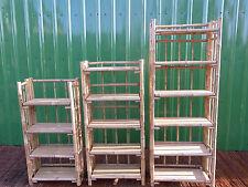 Bambusregal Bücherregal Bambusmöbel Schuhregal Wandregal Regal Bambus lackiert