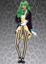 Womens The Joker Style Trickster Costume