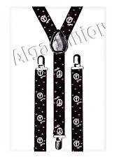 Y-Forma Bretelle regolabili clip per bretelle Girl 1 - 5 -15 Anno della Pace & Cuore