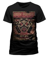 Planet der Affen Anti Ape Association Dirty Primate Männer Men T-Shirt Schwarz