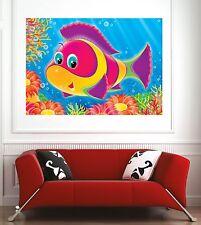 Affiche poster décoration murale Enfant poisson réf 1945458 (6 dimensions)