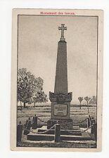 Germany, Worth, Monument des Turcos Postcard, A419