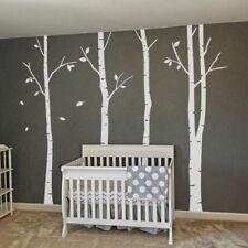 Winter Tree Birch Wall Sticker Baby Nursery Room Vinyl Art Home Removable Decor