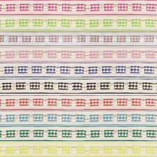 12mm x 2m, 5m, 10m Gingham Ruffle Effect Berisfords Essential Ribbon Craft