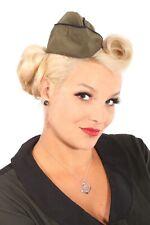 pin up Uniform rockabilly Sailor Matrosen Military Schiffchen Mütze