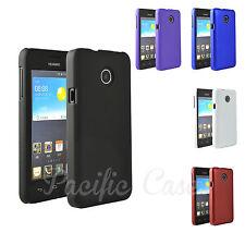 Coque étui housse pour Huawei Ascend Y330 revêtement gomme coloris au choix
