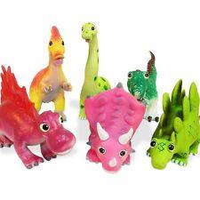 Soft Plastic Dinosaur Squashy Toys LARGE 27cm Jurassic T-Rex Cute Dino Toy