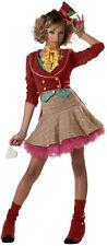 BRAND NEW Alice In Wonderland DELUXE TEEN GIRLS MAD HATTER COSTUME