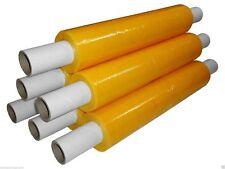Strong Yellow Tinted Pallet Wrap Stretch Shrinkwrap Film 400mmx300m 20mu NewLot