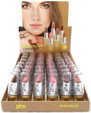 Saffron Nude Colour Lipstick - Matte & Shimmer Nude Shades - Assorted - New