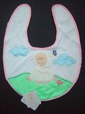 Baasley Baby Bib in Pink - Russ Berrie & Co