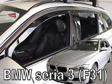 BMW 3 series F31 5 doors estate 2012-up 4 pieces wind deflectors HEKO Tinted new