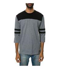 KR3W Mens The Landry Raglan Embellished T-Shirt